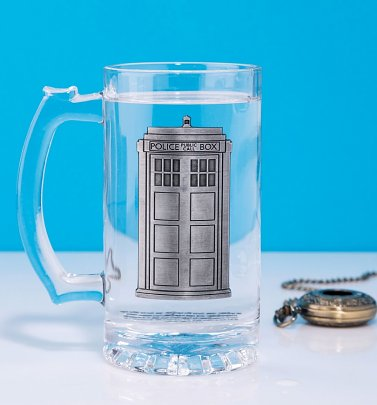 Doctor Who TARDIS Glass Stein