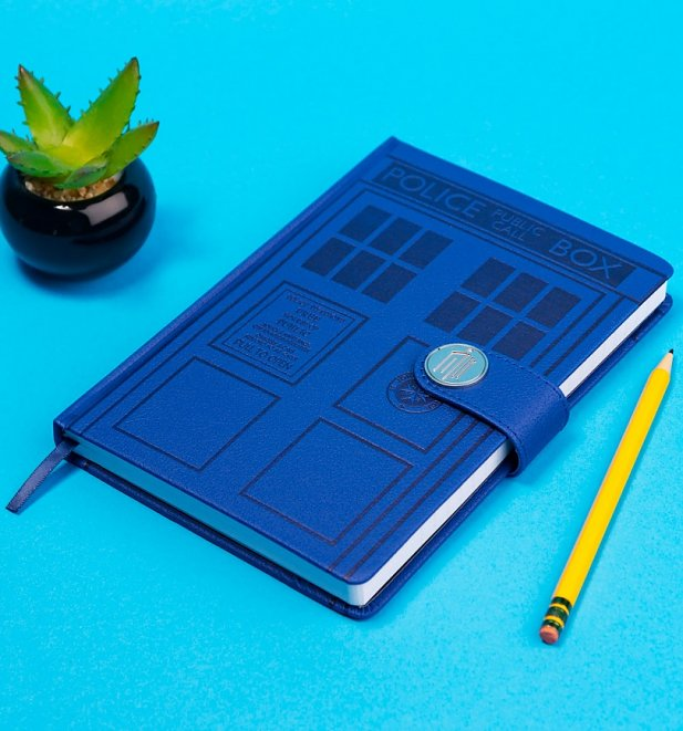 Doctor Who Tardis Premium A5 Notebook