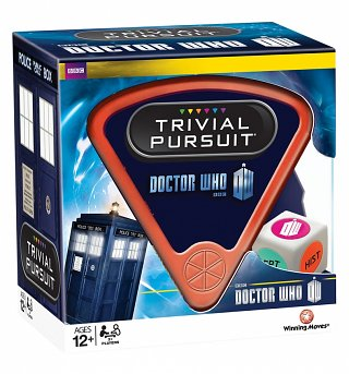 Doctor Who Trivial Pursuit Game Set