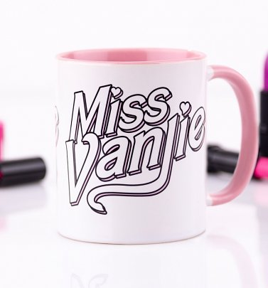 RuPaul's Drag Race Miss Vanjie Pink Coloured Handle Mug
