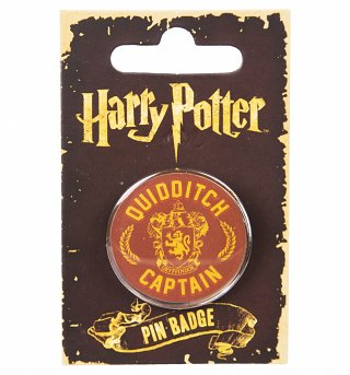 Enamel Harry Potter Quidditch Captain Badge