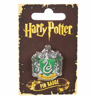 Enamel Harry Potter Slytherin Badge
