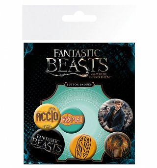 Fantastic Beasts And Where To Find Them Badge Pack