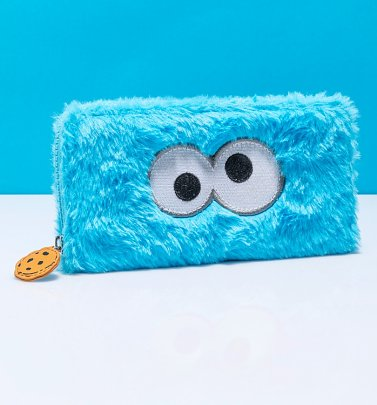 Fluffy Cookie Monster Sesame Street Wallet from Difuzed