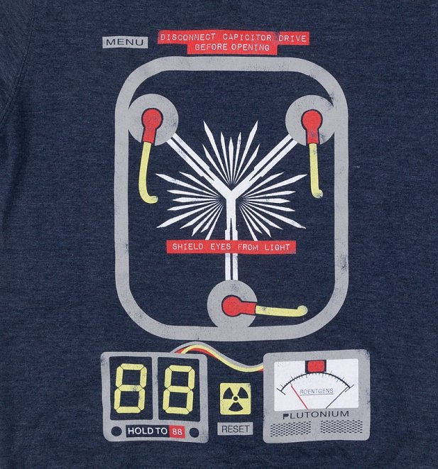 Flux Capacitor Heather Sweater