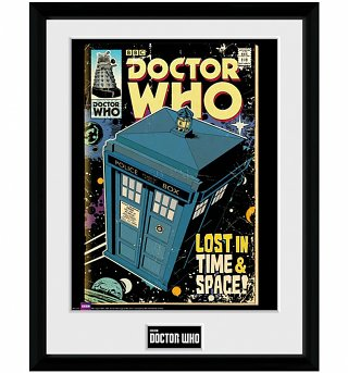 Framed Doctor Who Tardis Comic 30 x 40cm Collectors Print