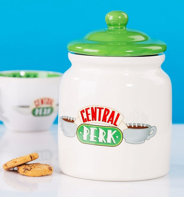 Friends Central Perk Ceramic Biscuit Barrel