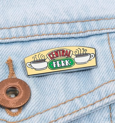 Friends Central Perk Enamel Pin Badge