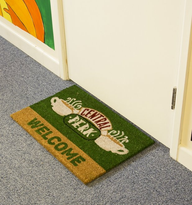 Friends Central Perk Welcome Door Mat
