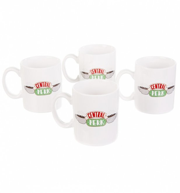 Friends Ceramic Central Perk Espresso Mug Set