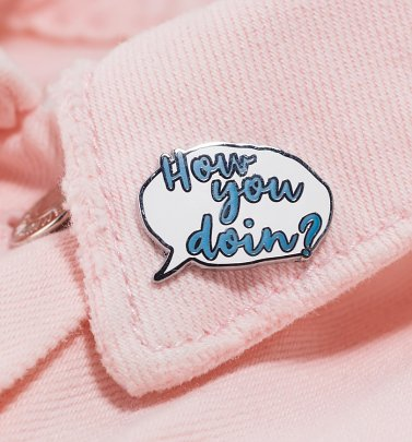 Friends How You Doin' Enamel Pin Badge