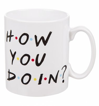 Friends How You Doin' Mug