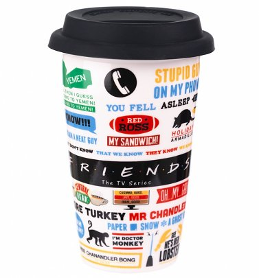 Friends Icons Travel Mug