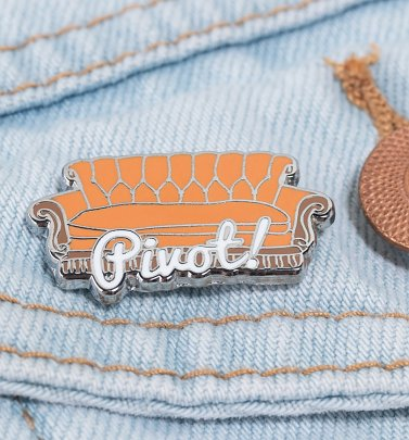 Friends Pivot Enamel Pin Badge