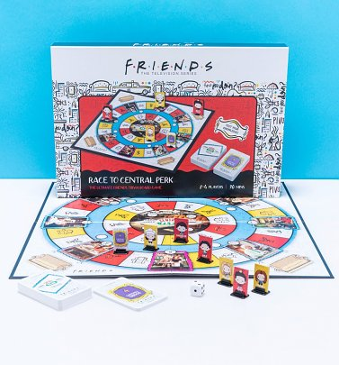 Friends Race To Central Perk Trivia Board Game