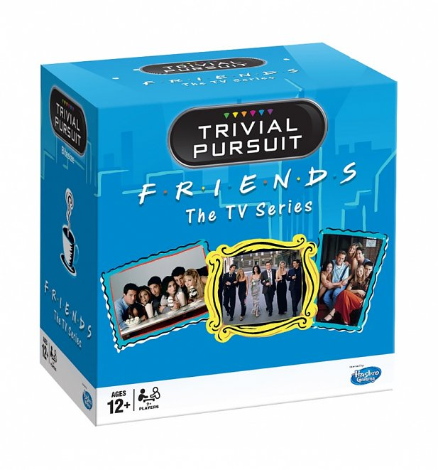 Friends Trivial Pursuit Bitesize Card Edition