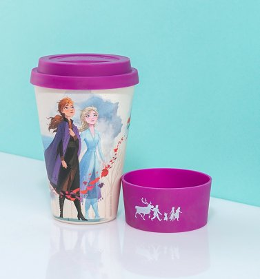 Frozen II Bamboo Travel Mug