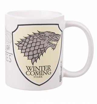Game Of Thrones Stark Logo Mug
