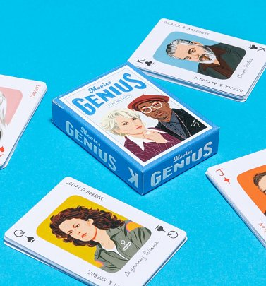 Genius Movies Playing Cards