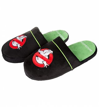 Ghostbusters Logo Slip On Slippers
