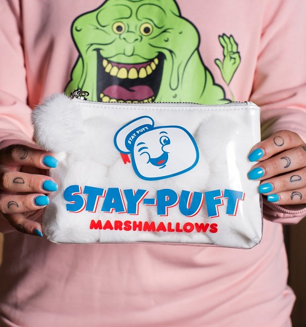 Ghostbusters Stay Puft Pom Pom Pouch from Cakeworthy