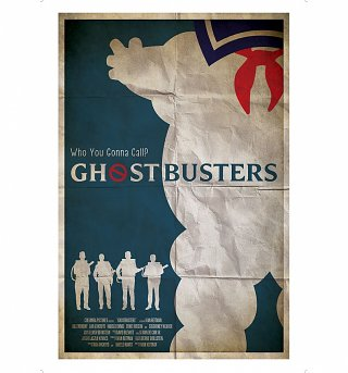 "Ghostbusters Who You Gonna Call 11.7"" x 16.5"" Art Print"