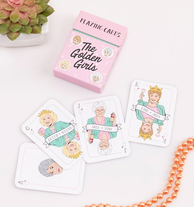 Golden Girls Playing Cards