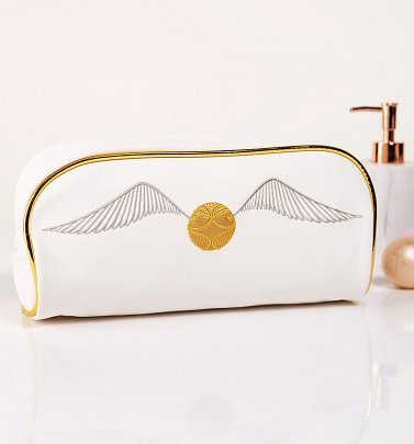 Golden Snitch Harry Potter Wash Bag