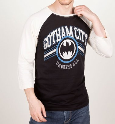 Gotham City Basketball Baseball T-Shirt