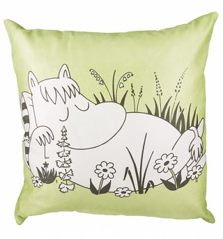 Green Snorkmaiden Moomins Cushion