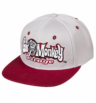 Grey Fast N' Loud Gas Monkey Garage Snapback Baseball Cap