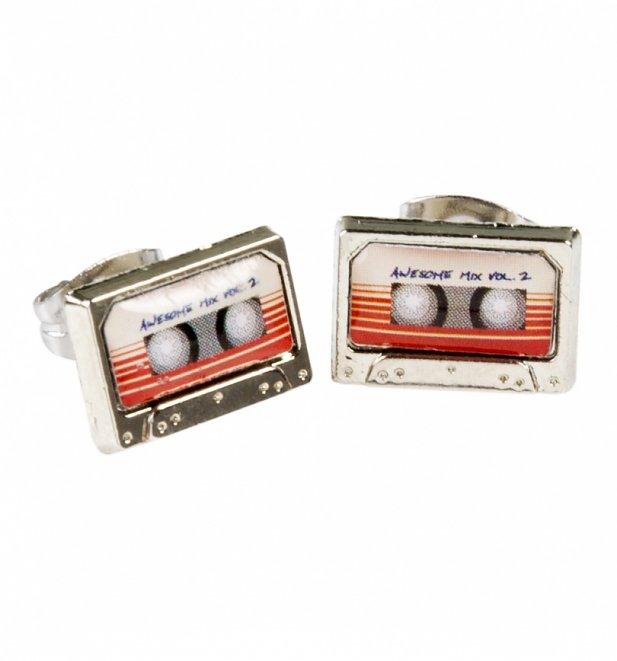 Guardians Of The Galaxy Mix Tape Stud Earrings
