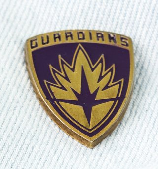 Guardians Of The Galaxy Pin Badge
