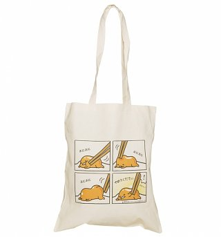 Gudetama Comic Tote Bag