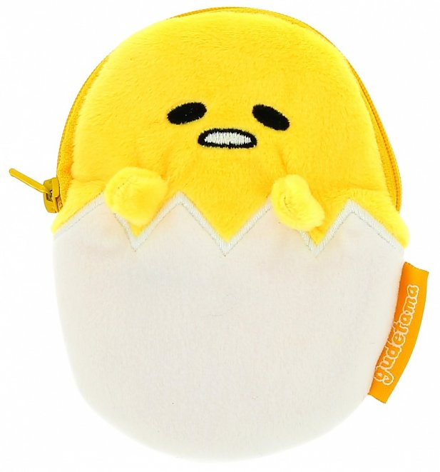 Gudetama Plush Purse