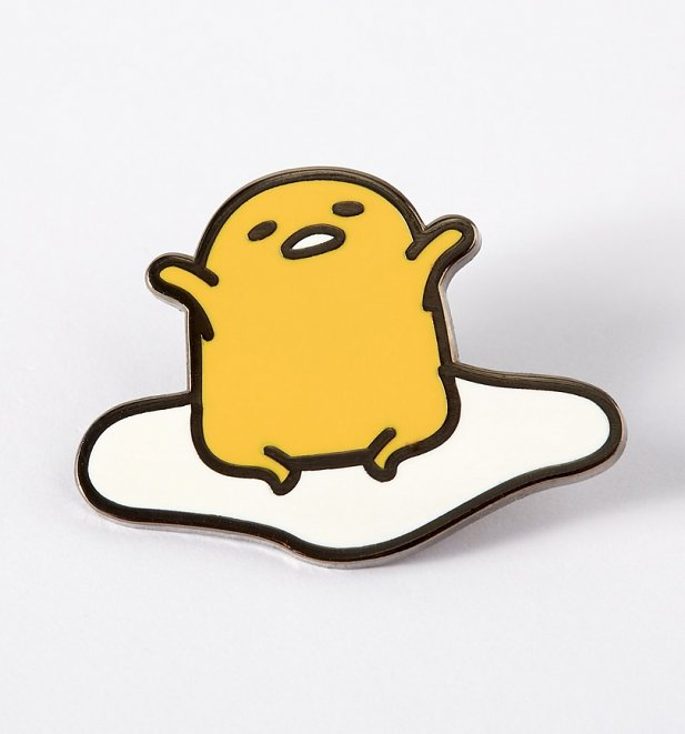 Gudetama Yawn Enamel Pin from Punky Pins