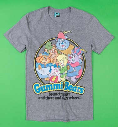 Gummi Bears Grey Marl T-Shirt