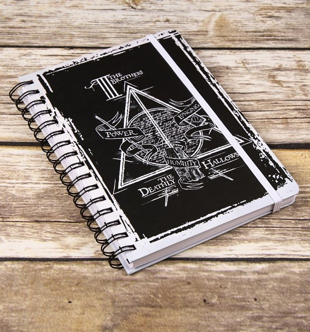 Harry Potter Deathly Hallows A5 Notebook