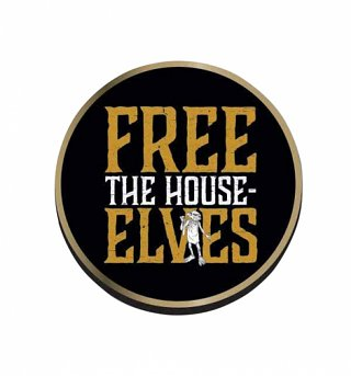 Harry Potter Dobby Free The House Elves Pin Badge