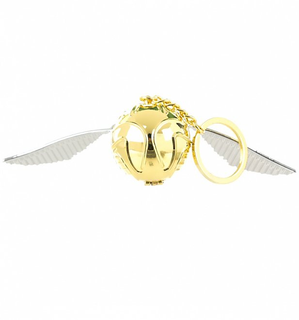 Harry Potter Golden Snitch 3D Keyring