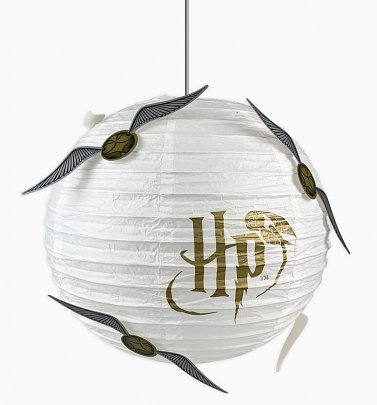 Harry Potter Golden Snitch Paper Lampshade