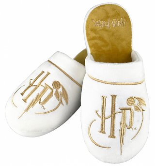 Harry Potter Golden Snitch Slippers