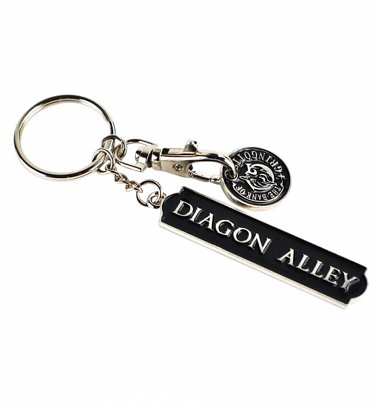 Harry Potter Gringotts Keyring With Trolley Coin