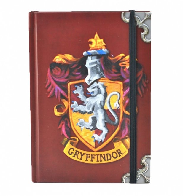 Harry Potter Gryffindor Crest A6 Notebook