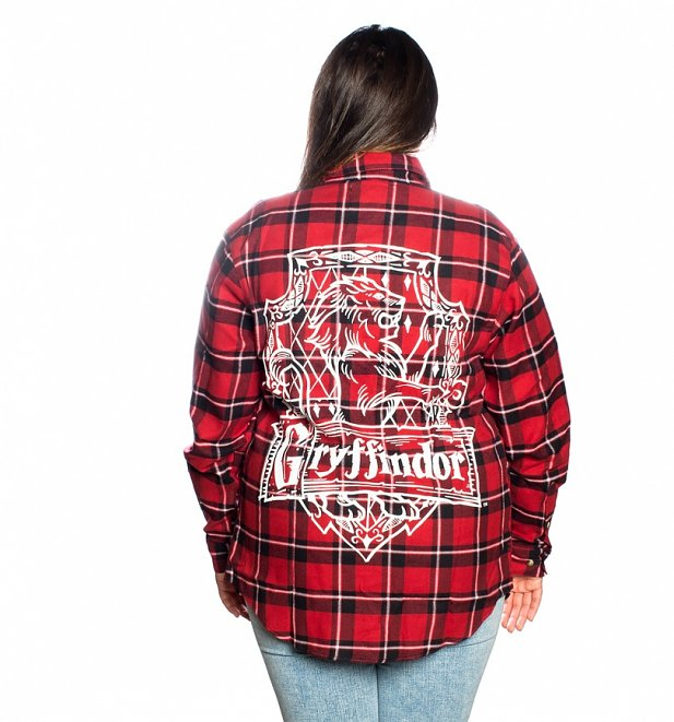 Harry Potter Gryffindor Flannel Shirt from Cakeworthy