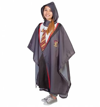Harry Potter Gryffindor Robe Poncho