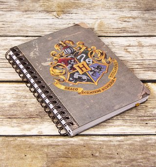 Harry Potter Hogwarts Crest A5 Notebook