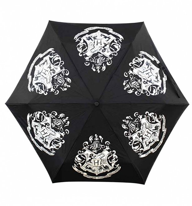 Harry Potter Hogwarts Crest Colour Changing Umbrella