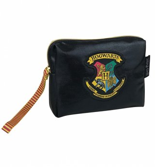 Harry Potter Hogwarts Crest Cosmetic Bag