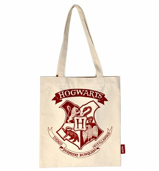Harry Potter Hogwarts Crest Tote Bag